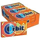 Orbit Citrus Sugarfree Gum 14 Count (Pack of 12)