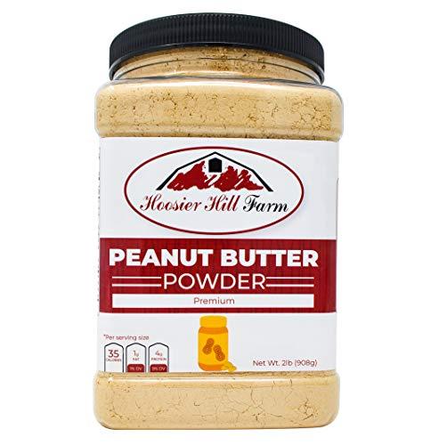 Peanut Butter Powder, 2 Lbs, Gluten Free, Non-GMO, Made in USA