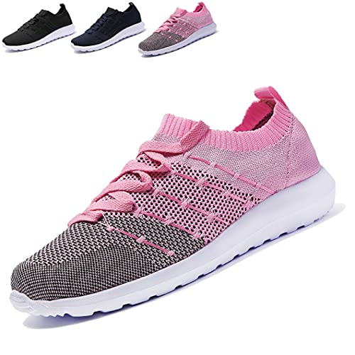 Turnschuhe Damen Sneakers Leichte Atmungsaktiv Laufschuhe Sportschuhe Fashion Freizeitschuhe Outdoor Fitness Walking Jogging Schuhe