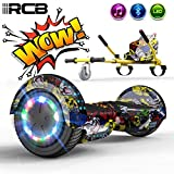 RCB Elettrico Scooter Elettrico con Hoverkart Go-Kart Costruito in luci a LED...
