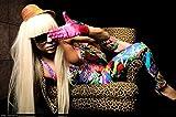 C-HOB6F5 Lady Gaga 53cm x 35cm,21inch x 14inch Silk Print