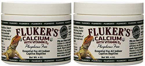 Fluker's Calcium Reptile Supplement with added Vitamin D3 - 4oz.