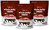 Fruitables Whole Jerky Bites Grilled Bison and Apple 5 Ounce, Pack of 3