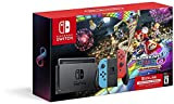 Nintendo Switch w/ Neon Blue & Neon Red Joy-Con + Mario Kart 8 Deluxe (Full Game Download) + 3 Month Nintendo Switch Online Individual Membership