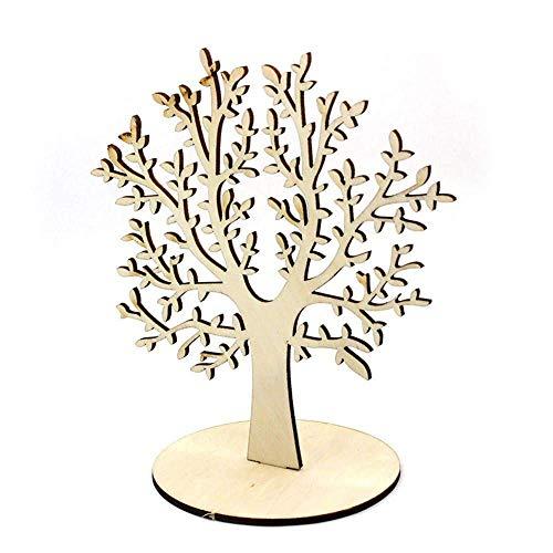 RUBY- Baum des Lebens Ohrring-Anzeige, Balsaholz-Baum, künstlicher Baum mit Stamm-Hauptdekoration (B-L, Groß)