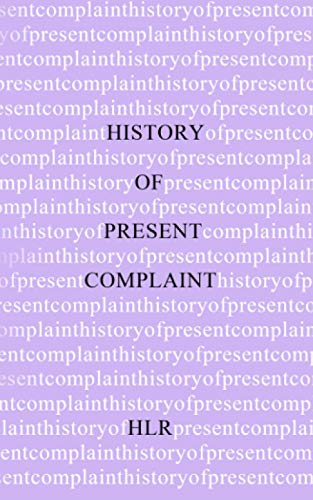 History of Present Complaint