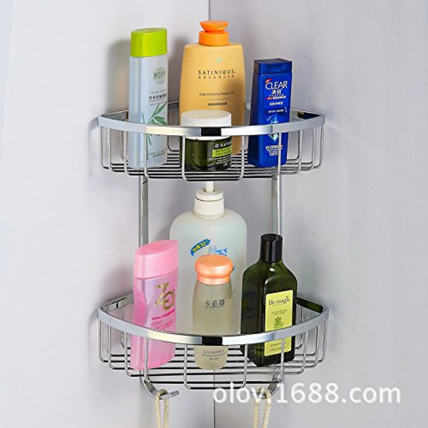 304 stainless steel bowls toilet bathroom triangle shelf