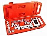 Kit Pagliettatrice/Flangiatubi/Svasatrice per tubi con accessori in valigetta 10pz