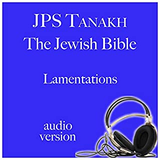 Lamentations audiobook cover art