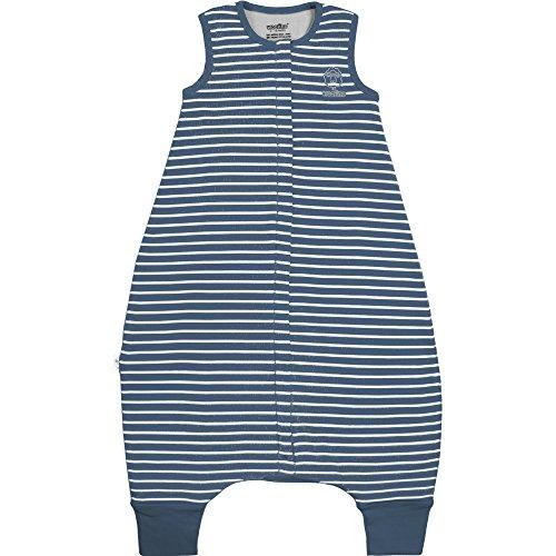 Woolino 4 Season Baby Sleep Bag with feet, Australian Merino Wool, 6-18 Months, Navy Blue