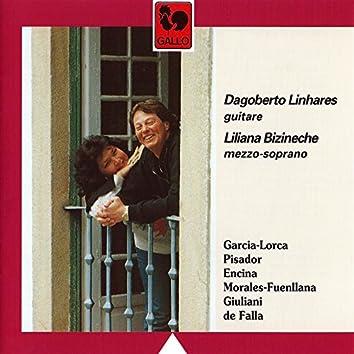 Canciones Españolas: Garcia-Lorca - Pisador - Encina - Giuliani - Manuel de Falla