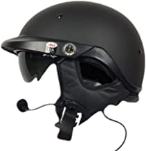 Bell Pit Boss With J&M 787 Headset and Lower Cord Harley Davidson - Matte Black XXXLarge