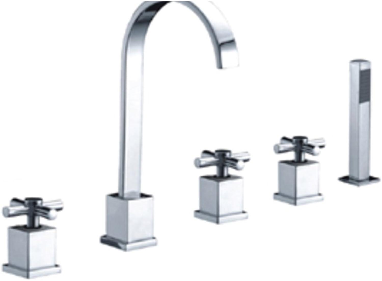 Copper Bathtub Split The Bathroom Faucet Bathtub Faucet Kit-B