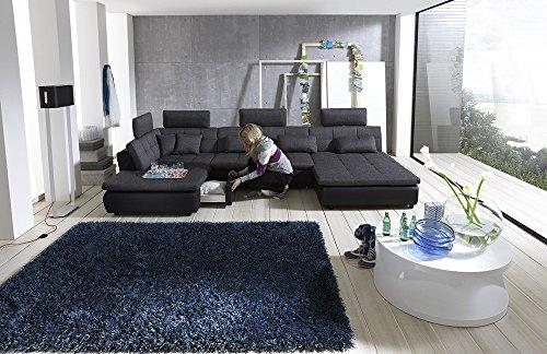Loungesofa Wohnlandschaft Sofa Couch Ecksofa Eckcouch Plansofa Free C NEU by Megapol Polstermöbel