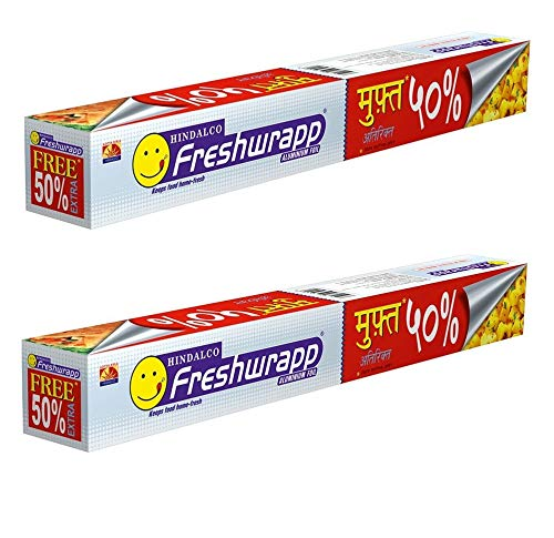 Freshwrapp Aluminium Foil (50 g; 33 and 17 g)- Pack of 2