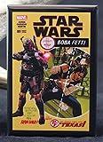 Star Wars Boba Fett Comic Book Cover Refrigerator Magnet.