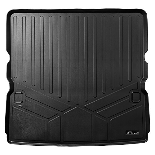 MAXLINER All Weather Cargo Liner Floor Mat Behind 2nd Row Black for 2017-2018 Nissan Armada / 2011-2013 Infiniti QX56 / 2014-2018 QX80