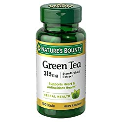 in budget affordable Nature's Bounty Green Tea Extract, 315 mg, 100 capsules (2 packs)
