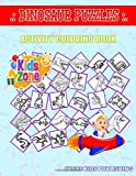 Dinosaur Puzzles: 40 Fun Baryonyx, Velociraptor, Ankylosaurus, Styracosaurus, Meteorite, Tyrannosaurus, Heterodontosaurus, Ampelosaurus For Boys Picture Quizzes Words Activity And Coloring Book