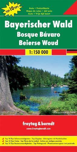 Freytag Berndt Autokarten, Bayerischer Wald - Maßstab 1:150 000: Top 10 Sehenswürdigkeiten. Top Cityplan. Ortsregister mit Postleitzahlen: ... 000 (freytag & berndt Auto + Freizeitkarten)