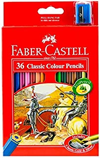 Faber Castell Color Pencil Pack of 36 Pieces