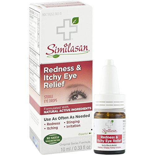 Similasan Redness & Itchy Eye Relief Drops .33-Ounce Bottle
