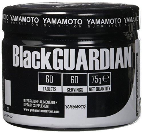 Yamamoto Nutrition BlackGUARDIAN integratore a base di estratti che favoriscono funzionalità depurative, antiossidanti e gastro-intestinali 60 compresse