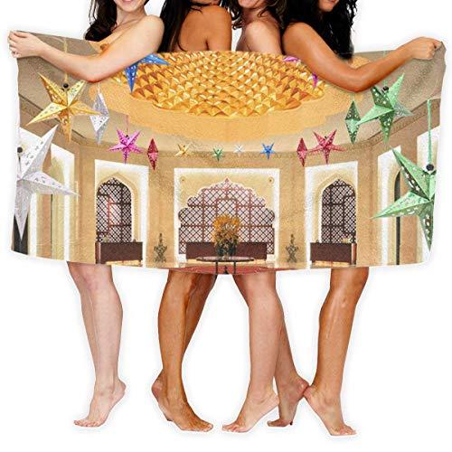 Noble Palace Hall Shower Wrap, Toalla de playa, Toallas de baño, Qiuck-Dry, Toalla de baño, Toalla de baño absorbente, Toalla de piscina, Manta para el hogar, Sauna, Hotel, Waffle Body Wrap, Spa, Viaj