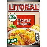 LITORAL Guiso de Patatas a la Riojana - Plato Preparado de Guiso de patatas Sin Gluten - 425g