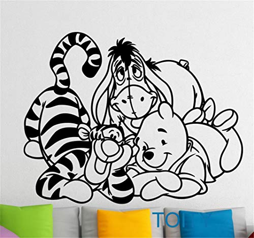 Winnie l'ourson sticker mural Winnie l'ourson tigger autocollant de dessin animé chambre d'enfant chambre d'enfant enfants maison intérieur chambre murale