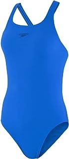 Speedo Women's Essential Endurance+ Medalist Swimming Costume for Women Blue Size 34