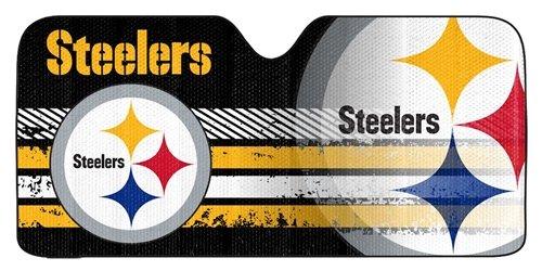 Pittsburgh Steelers Auto Sun Shade - 59''x27''