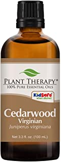 Plant Therapy Cedarwood Virginian Essential Oil 100 mL (3.3 oz) 100% Pure, Undiluted, Therapeutic Grade