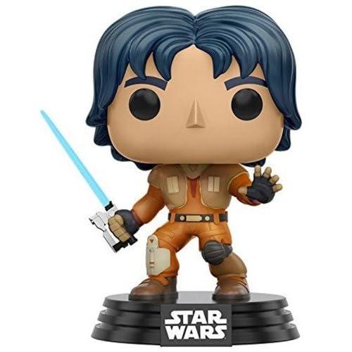 Funko- Pop Bobble Star Wars Rebels Ezra, 10772