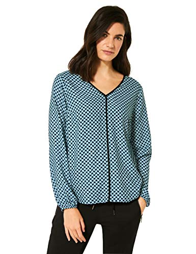 Cecil Damen 342316 Bluse, Atlantic Green, XXL