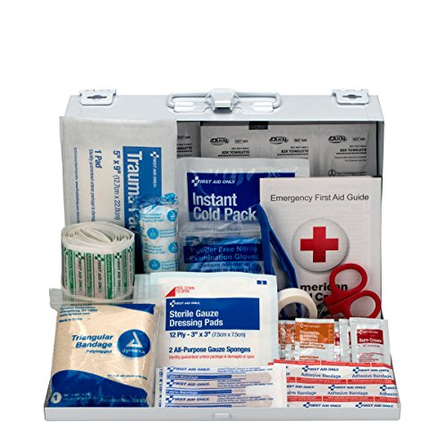 First Aid Only 178-Piece Contractor's First Aid Kit, OSHA Compliant - $19.93
