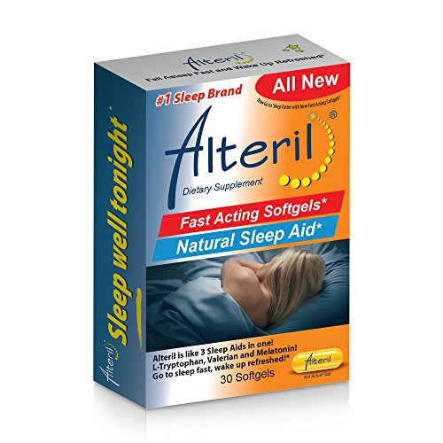 Alteril Natural Sleep Aid Fast Acting Softgels 30ct