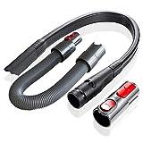 SDFIOSDOI Piezas de aspiradora Adecuado para Dyson V8 V10 V11 Accesorios de aspiradora Accesorios Tubo VACÍO Tubo TELESCÓPICO Tubo DE Manguera DE EXTENSIÓN (Color : Vacuum Cleaner Hose)