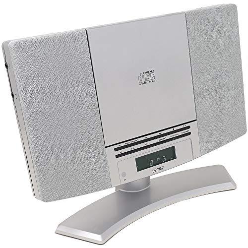 Denver MC-5220 MK2 CD Player Stereo - Wall Mountable, FM Radio, Clock Alarm...
