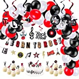 Rock and Roll Party Decoration Balloons...