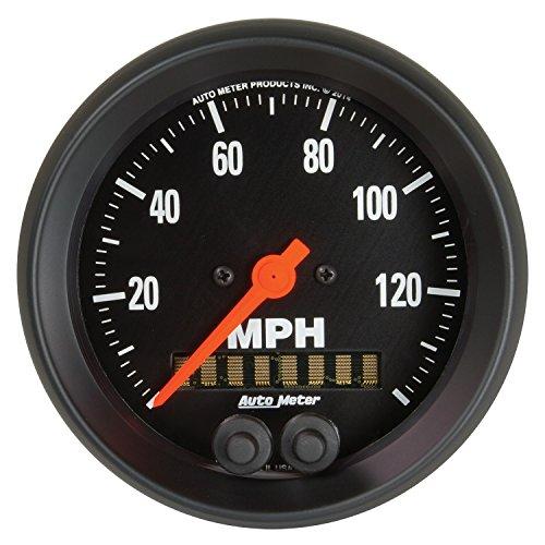 "AUTO METER 2680 Z-Series 3-3/8"" GPS Speedometer (0-140 MPH)"