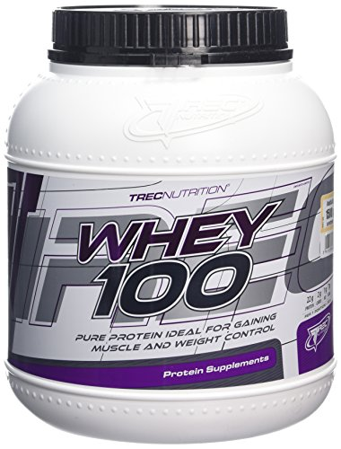 Trec nutrition whey 100 1500 gram vanilla protein concentrate