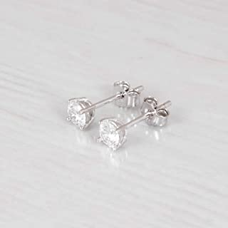 Hypoallergenic Silver Plated Posts Olive Green Glitter Bubble Stud Earrings