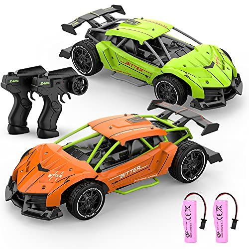 RC Drift Car, X TOYZ High Speed Racing Sport RC Cars with Lithium Battery for Kids, 2.4Ghz RC Drift Car 1/22 Scale 14KM/H Electric Vehicle Toy Hobby Car for Boys Girls Kids Gift