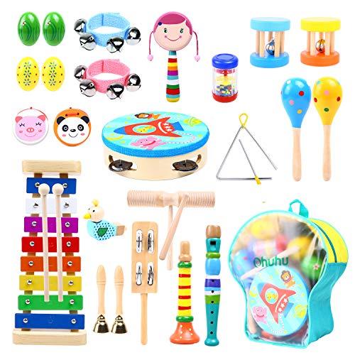 Music Instruments for Kids 30 Pcs, Ohuhu Music Toys Kid...