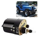 Limpiaparabrisas Motor 12V-Car Auto Motor Limpiaparabrisas Forma for el Jeep Willys Tractor 01287358...