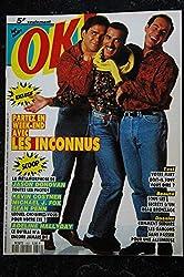 OK ! âge tendre 809 15 au 21 juil. 1991 Les INCONNUS - Adeline Hallyday - mini poster Rien à perdre