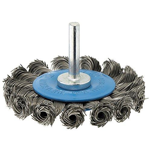 Forum 4317784861533 Brosse circulaire en fils d'acier tressés 6 x 75 mm
