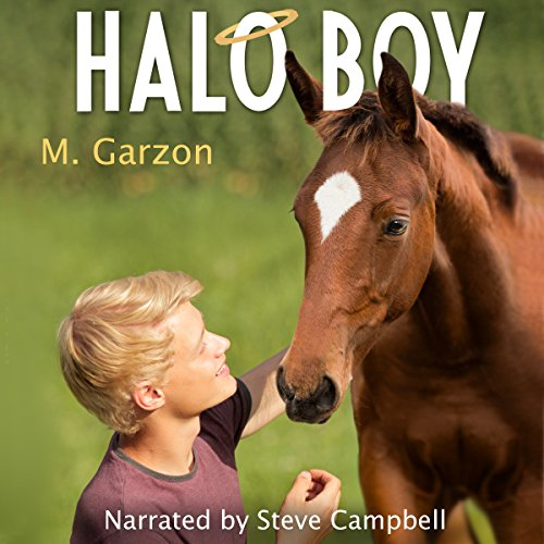 Halo Boy audiobook cover art