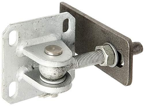 GAH-Alberts 418649 Torband | mit Platte zum Aufschrauben | feuerverzinkter Stahl und Edelstahl | Gewinde M16